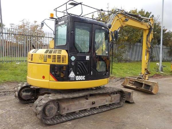 CATERPILLAR 308c cr mini excavator