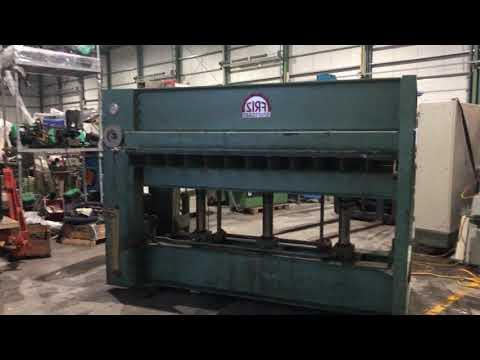 <b>FRIZ</b> P 100 Hot-Platen Press
